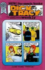 Dick Tracy Weekly #91 FN; Blackthorne   save on shipping - details inside
