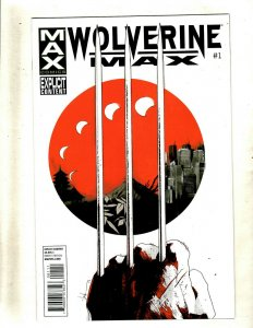 15 Wolverine Max Marvel Comic Books # 1 2 3 4 5 6 7 8 9 10 11 12 13 14 15 RP4