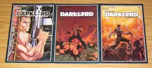 Stephen Darklord the Survivor #1-3 FN/VF complete series - RAK graphics set lot