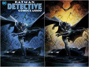 DETECTIVE COMICS 1000 CLAYTON CRAIN VIRGIN VARIANT SET