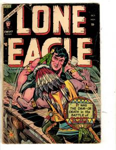 Lone Eagle # 4 VG Farrell Golden Age Comic Book Western Cowboy Indian Chief JL2