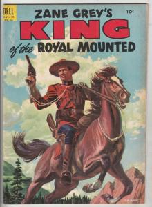 King of the Royal Mounted #18 (Dec-55) VF+ High-Grade King of the Royal Mounted