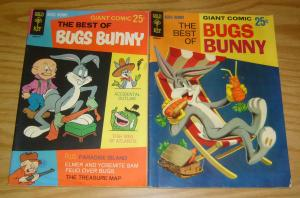 Best of Bugs Bunny #1-2 FN complete series - gold key comics - silver age set