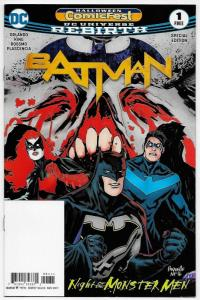 HCF Halloween ComicFest Batman Special Edition #1 (DC, 2017) VF/NM