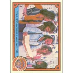 1978 Donruss Sgt. Pepper's THE LHCB RECEIVES A WIRE FROM B.D. #4