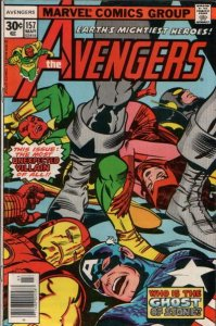 AVENGERS #157 (NG) stock photo