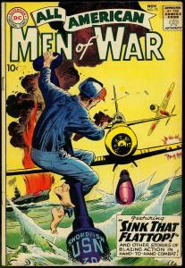 ALL-AMERICAN MEN OF WAR #75 1959-DC COMICS-RUSS HEATH  FN