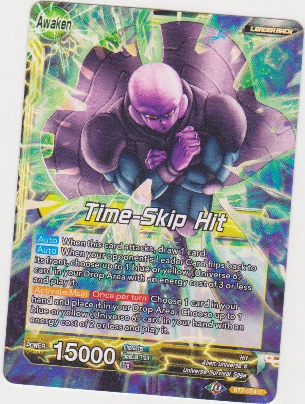 Dragon Ball Super CCG - Assault on the Saiyans - Time-Skip Hit/Hit