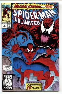 Spider-Man Unlimited #1 NM- 1993 comic book 1st Maximum Carnage  Marvel