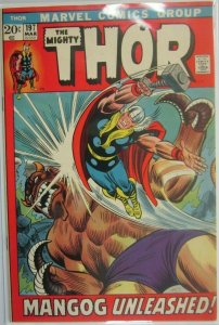 The Mighty Thor #197 - 5.0 VG/FN - 1972