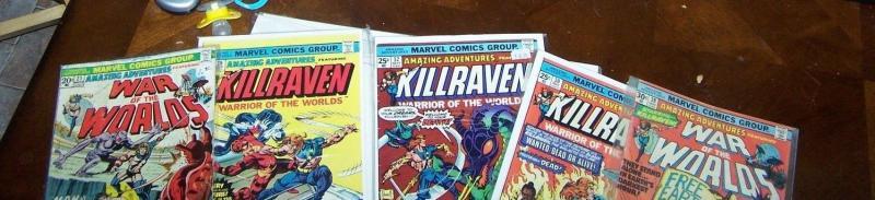 Amazing Adventures #21 29* 30 32 39  ( 1973, Marvel) killraven