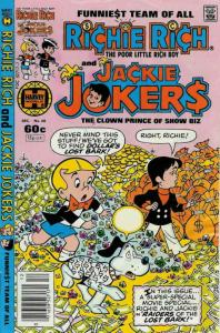 Richie Rich And Jackie Jokers #48 FN; Harvey | save on shipping - details inside