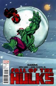 Fall of the Hulks: Gamma #1B FN; Marvel | save on shipping - details inside