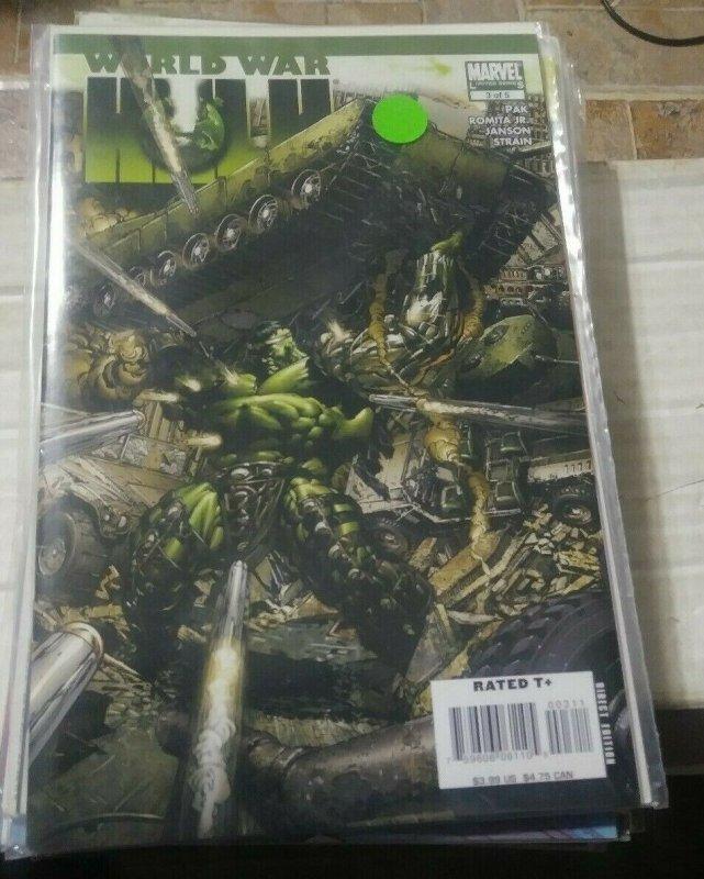 world war hulk # 3 mini series greg pak