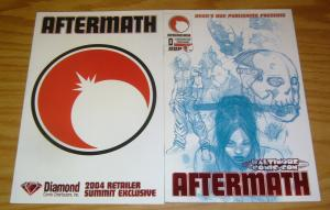 Aftermath Preview #0 VF/NM diamond retailer summit variant + baltimore comic-con