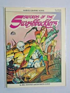 Swords of the Swashbucklers #1 GN graphic novel 8.0 VF (1984)