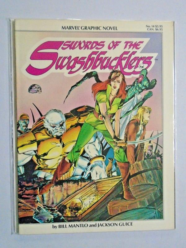 Swords of the Swashbucklers #1 - GN graphic novel - see pics - 8.0 - 1984