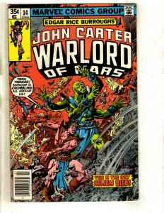12 John Carter Marvel Comics # 14 15 16 17 18 19 20 21 22 23 24 25  WS6