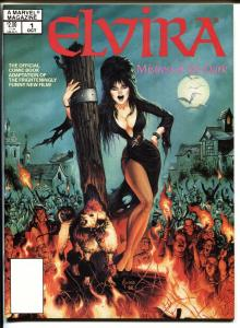 Marvel Spring Special #1 1988 Elvira Mistress of the Dark-Magazine