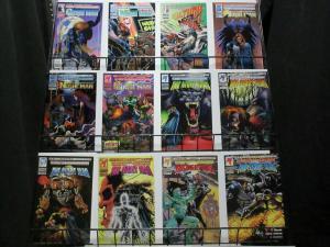 NIGHT MAN 1-23  The 'Batman' of the Ultraverse...!