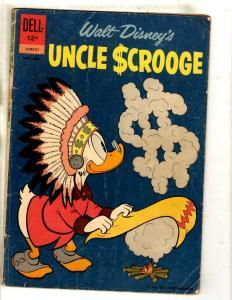 Uncle Scrooge # 39 VG/FN Dell Comic Book Walt Disney Donald Mickey Goofy JL15
