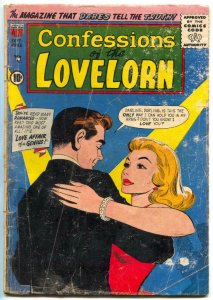 Confessions Of The Lovelorn #85 1957- Love Affair of a Genius G-
