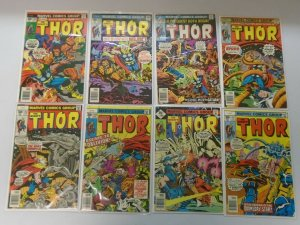 Bronze age Thor lot 22 different from #252-298 avg 6.0 FN (1976-80 1st Series)
