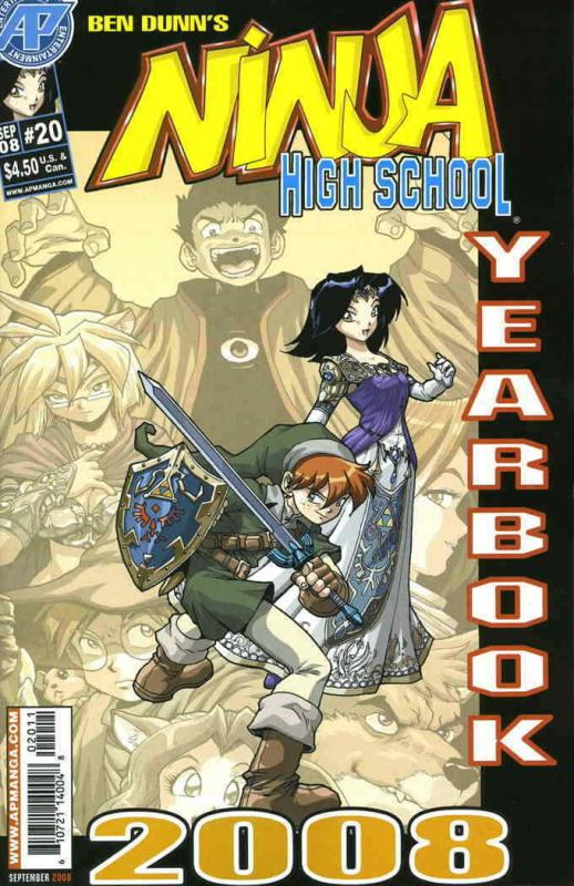 Ninja High School Yearbook #20 VF/NM; Malibu | save on shipping - details inside