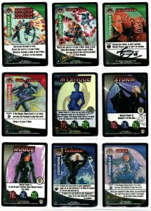 9 Autographed X-Men Trading Card Game CCG Cards Scott Sava RK Post Ray Lago MORE