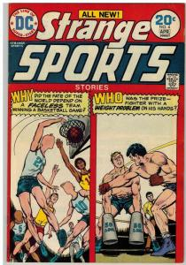 STRANGE SPORTS STORIES 4 VG-F April 1974