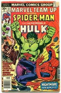 Marvel Team-up #53 first John Byrne X-Men art. 1976 reading copy
