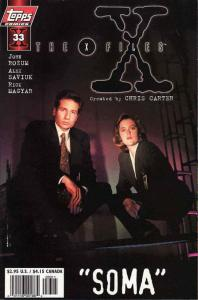 X-Files, The #33SC VF/NM; Topps | save on shipping - details inside