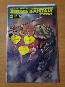 Jungle Fantasy Secrets #4 Vixens Nude Variant Cover