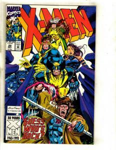 10 X-Men Marvel Comics # 20 25 33 34 35 36 37 38 39 40 Wolverine Storm Rogue NP8