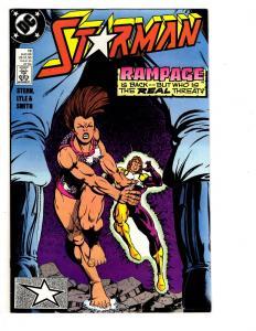 4 Starman DC Comic Books # 13 14 15 16 Superman Stern Lyle Smith Rampage MS7