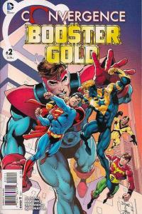 Convergence Booster Gold #2, NM + (Stock photo)