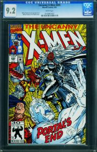 X-MEN #285-WHITE PAGES-CGC 9.2 0143461007