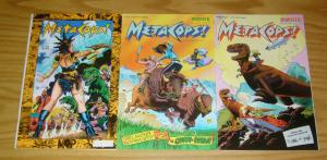 MetaCops #1-3 VF/NM complete series - metaphysical police - monster comics set