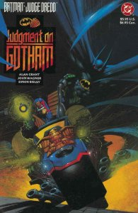 Batman/Judge Dredd: Judgment on Gotham #1 VF/NM; DC | save on shipping - details