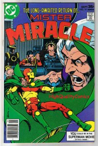 MISTER MIRACLE #19, VF/NM, Return of Mr Miracle , 1971, more JK in store