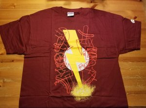 Flash New Frontier T-Shirt L NOS w/ Tags DC Comics