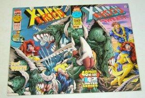 X-Men/Brood: Day of Wrath #1-2 VF complete series - john ostrander - hitch