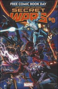 Marvel SECRET WARS Free Comic Book Day #0 VF