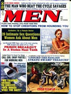 MEN-8/1971-Pussycat-Nazi-Nudist-Adventure