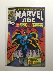 Marvel Age 75 Near Mint Nm Marvel