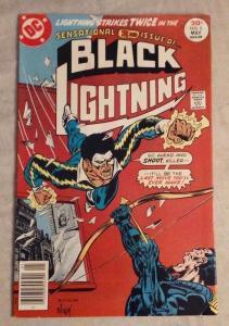 BLACK LIGHTNING #2, FN/VF, Bronze age, 1977, more DC in store
