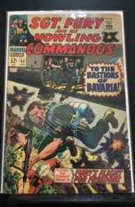 Sgt. Fury #53 (1968)