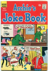 Archie's Joke Book #124 1968- Archies cover- Pest control FN+