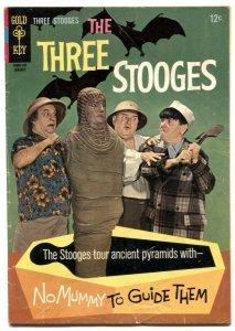 Three Stooges #32 1967- Gold Key- Mummy cover G/VG