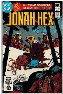 JONAH HEX 50 VG-F  July 1981